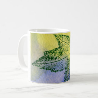 Blaues Grün des Kaffeetasse