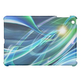 Blaues Grün-Neonlichter High-Tech Hüllen Für iPad Mini