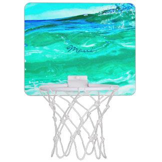 blaues/grünes Maui bewegt Thunder_Cove wellenartig Mini Basketball Ring