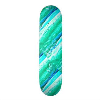 blaues/grünes Maui bewegt Thunder_Cove wellenartig Skateboard Bretter