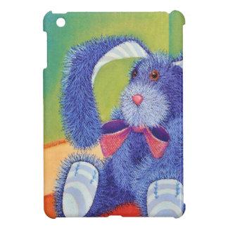Blaues Häschen iPad Mini Schutzhülle