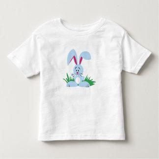 Blaues Häschen - Kleinkind-T - Shirt