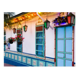Blaues Haus Postkarte