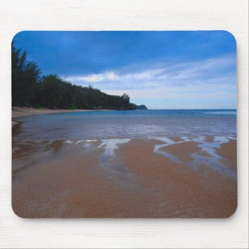 Blaues Hawaii Mauspad