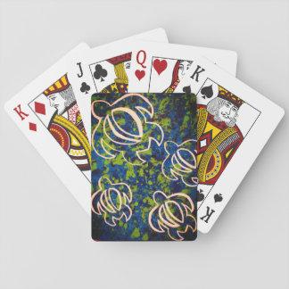Blaues Honu Spielkarten