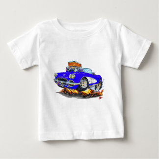 Blaues Kabriolett 1961 Korvette Baby T-shirt