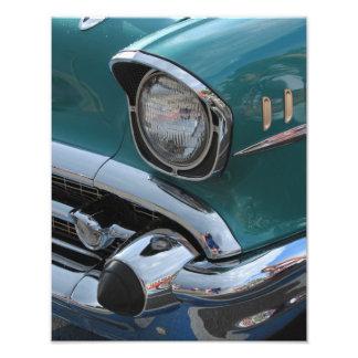 Blaues klassisches Auto Kunstphotos