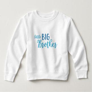 Blaues kleines großer sweatshirt