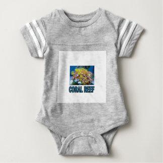 blaues Korallenriff ja Baby Strampler