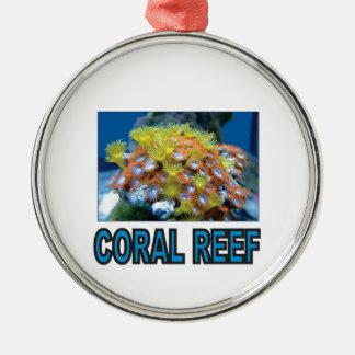blaues Korallenriff ja Silbernes Ornament