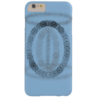 Blaues künstlerisches phonecase barely there iPhone 6 plus hülle
