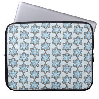 Blaues Laptopschutzhülle