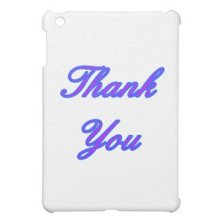 Blaues Lila danken Ihnen, das MUSEUM Zazzle GIF zu Hülle Für iPad Mini