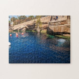 Blaues Loch auf Weg 66 - Santa Rosa Puzzle