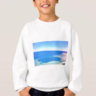 Blaues Loch Dahab Ägypten Bild Sweatshirt