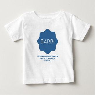 Blaues Logo Baby T-shirt