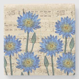 Blaues Lotus-Traum Steinuntersetzer