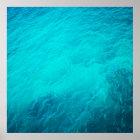 Blaues Meer Poster