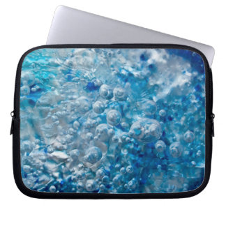 Blaues Mosaik-abstrakte Laptop-Hülse Laptop Sleeve