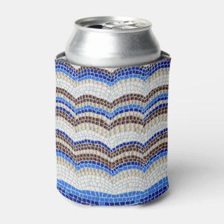 Blaues Mosaik kann cooler Dosenkühler