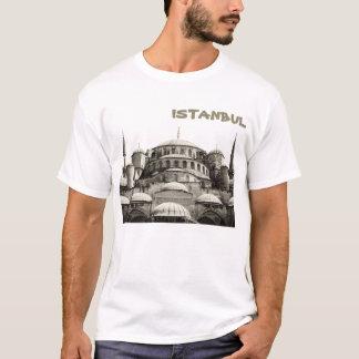 Blaues Moscheen-Istanbul-Shirt T-Shirt