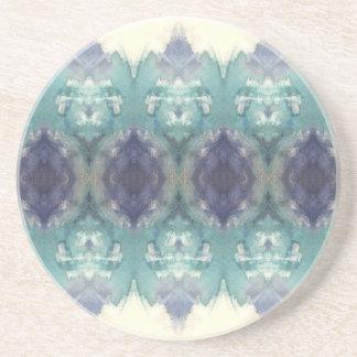 Blaues Muster Getränkeuntersetzer