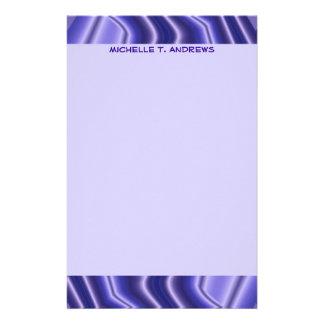 blaues Muster Individuelle Druckpapiere