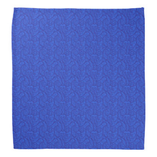 Blaues Paisley Halstuch