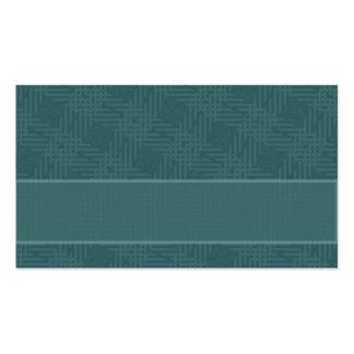 blaues Patchwork Visitenkarten
