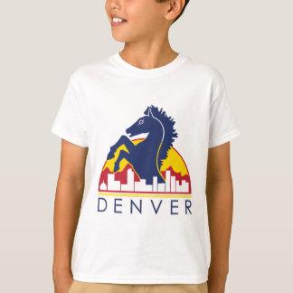 Blaues Pferd Denver T-Shirt