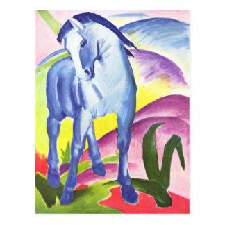 Blaues Pferd I durch Franz Marc-Postkarte