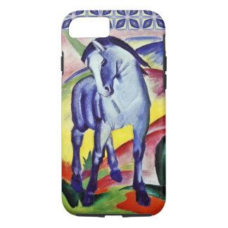 Blaues PferdeVintage feine Kunst-Malerei Franz iPhone 8/7 Hülle