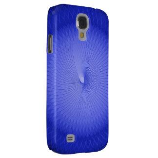 Blaues Plafond Galaxy S4 Hülle