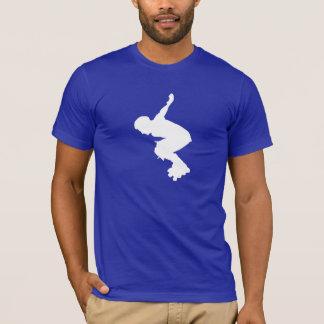 Blaues Rollerblading T-Shirt
