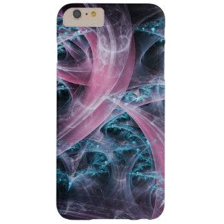 Blaues rosa Fraktal der Fantasie Barely There iPhone 6 Plus Hülle