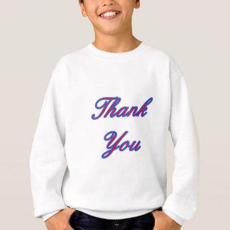 Blaues Rot danken Ihnen, die MUSEUM Zazzle Sweatshirt