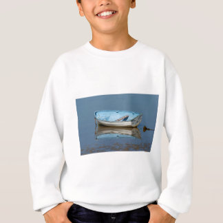 Blaues Ruderboot Sweatshirt