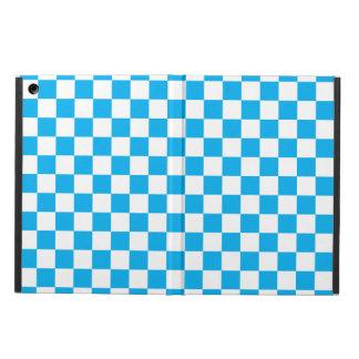 Blaues Schachbrett