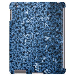 Blaues Schein-Zusammenfassungs-Telefon und iPad Hülle