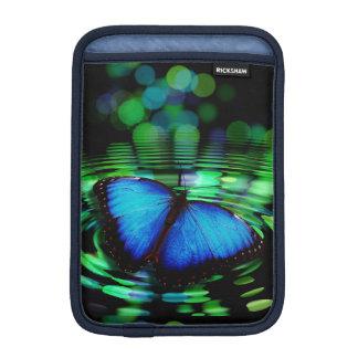 Blaues Schmetterling iPad mini vertikale Hülse
