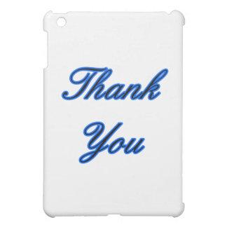 Blaues Schwarzes danken Ihnen, das MUSEUM Zazzle iPad Mini Hüllen
