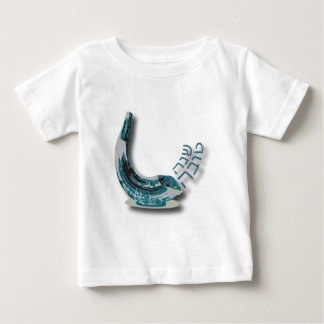 Blaues Shofer Shana Tova Baby T-shirt
