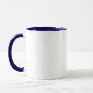 Blaues siamesisches tasse