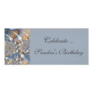 Blaues Silber 10,2 X 23,5 Cm Einladungskarte