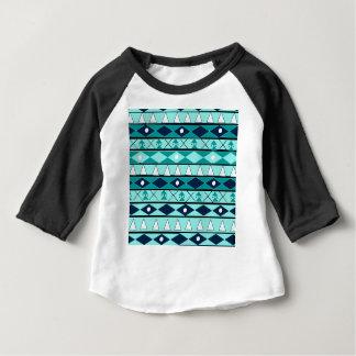Blaues, Stammes-, wildes, Abenteuer, Forscher, Baby T-shirt