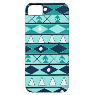 Blaues, Stammes-, wildes, Abenteuer, Forscher, Barely There iPhone 5 Hülle
