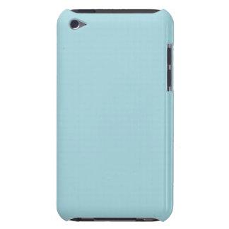 Blaues Strumpfband - blasser Baby-Blau-im Norden iPod Touch Hülle