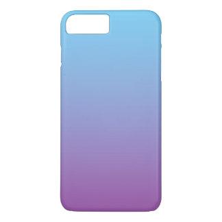 Blaues u. lila Ombre iPhone 8 Plus/7 Plus Hülle