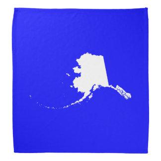 Blaues und weißes Alaska Halstücher