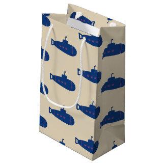 Blaues Unterseeboot Kleine Geschenktüte